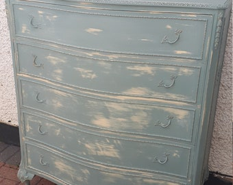 Louis style chest of drawers