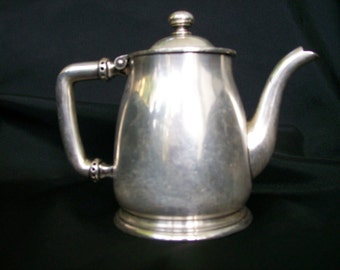 Rogers Silverplate Teapot