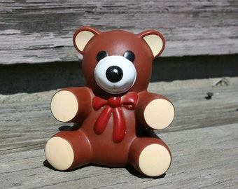 Ross Laboratories Similac Squeaky Teddy Bear Toy 1985