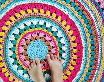 Pattern Crochet rug