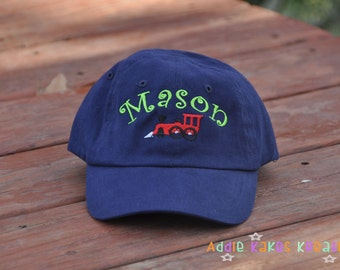 Personalized Baby Baseball Cap - Personalized Toddler Baseball Cap - Baseball Hat - Your Choice of Design - Boys Hat - Girls Hat - Ball Caps