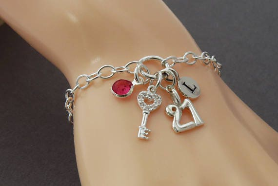 Special Niece 21st Birthday Charm Bracelet with Gift Box Women's Jewellery 8NLle0n