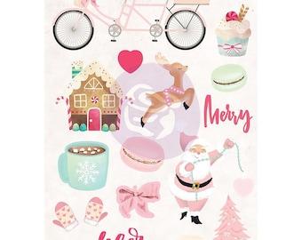 Pre Order Prima Marketing Santa Baby Puffy Stickers 993610, 20% Off Pre Order New