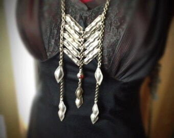 Tribal Chest Plate Necklace