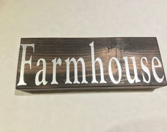 Farmhouse Rustic Home Decor Sign, Reclaimed Wood, Home Decorations, Country Decor, Rustic Decor, Wooden Decor, Farmhouse Decor