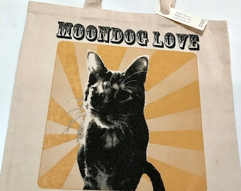 The MOONDOG LOVE tote