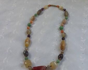Stone Multi-Color Necklace
