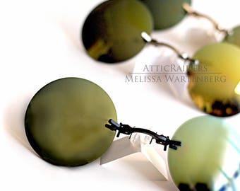 Yellow Polarized Sunglasses ,  Round Eye Glasses , Retro Sunglasses , Glasses , Sunglasses , Yellow Glasses , Travel Accessories , Travel