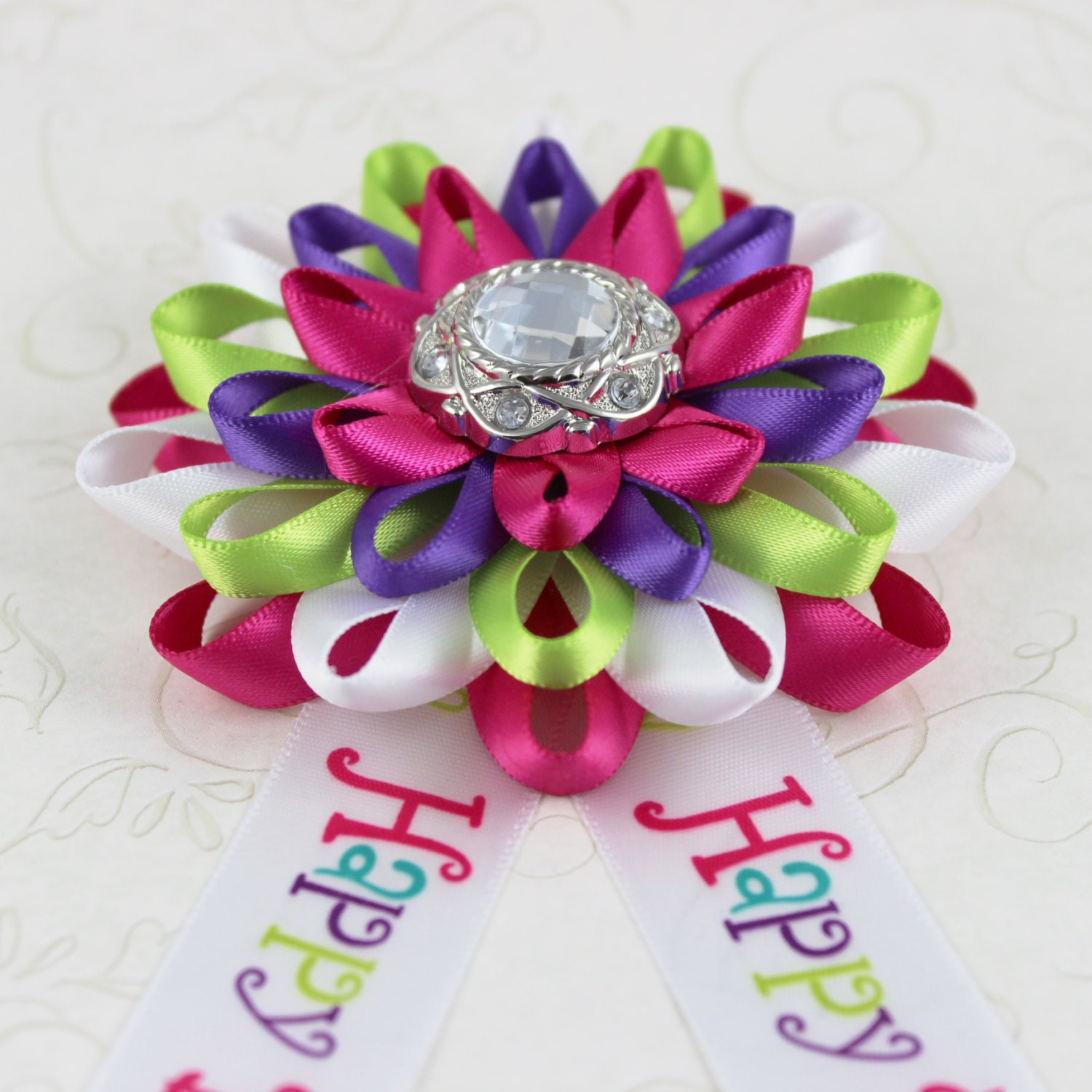 Birthday Party Decorations Happy Birthday Corsage Happy Birthday