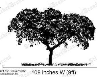 Vinyl Wall Decal Sticker Tree Top 386