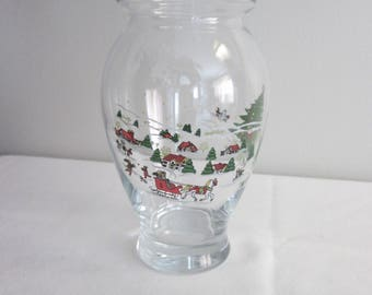 Holiday vase / vessel (Mud) of the time (weather) of tea parties (holidays)