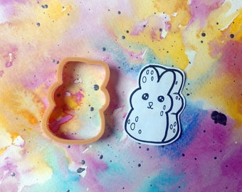 Bunny Peep Marshmallow Cookie Cutter // 3 Sizes //