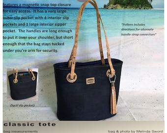 Classic Tote Bag PDF Pattern