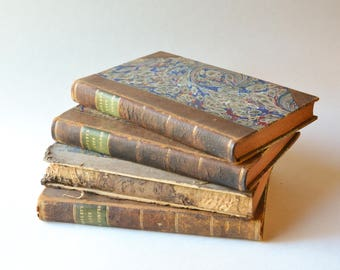 Hayley's Life of Cowper, 1812, Rare Book Set, English Books
