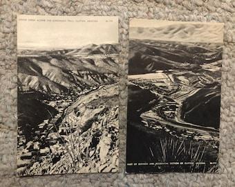 Vintage Postcards Clifton Arizona