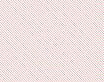 Sweet Orchard Stripe Pink yardage by Down Grapevine Lane for Riley Blake