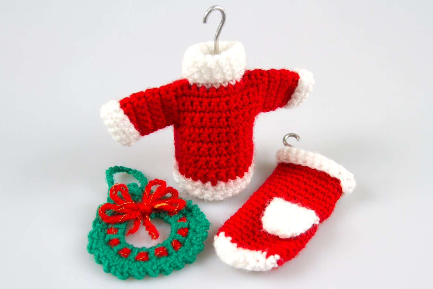 Unique Crochet Patterns Christmas Ornaments Collection - Sewing ...