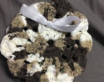 Set of 4 coasters, Crochet coasters