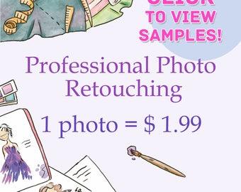 Professional Photo Retouching. Photo Improvement. Photo editing.