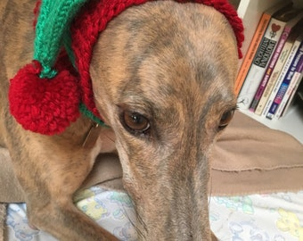 Green & Red Snood (Smaller Greyhound)
