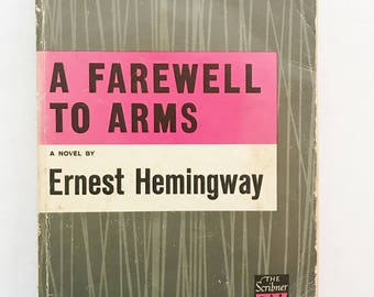 A Farewell To Arms by Ernest Hemingway Vintage Paperback Book