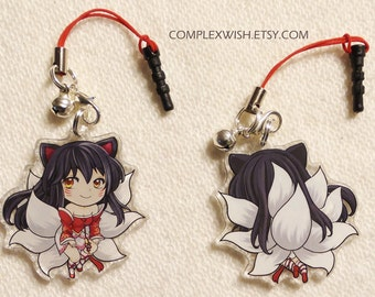 Reversible League of Legends Charm - Ahri