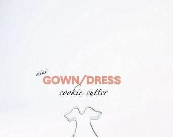 Mini Dress Gown Cookie Cutter