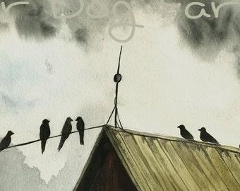 The Storm Watchers - 8 x 10 print