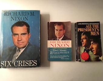 Set of 3 Nixon Books