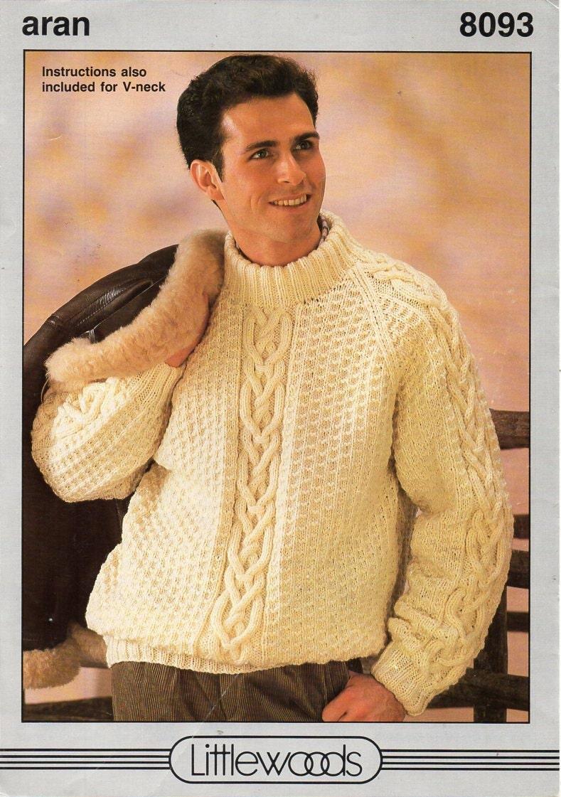 Modern Fisherman Sweater Knitting Patterns Embellishment - Sewing ...