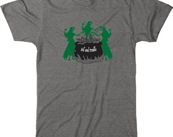 Double Double Toil and Trouble T - Shirt Men's Graphic Tee