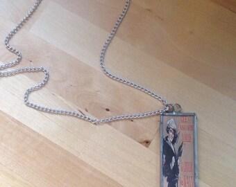 vintage pin-up sailor/ coast guard necklace