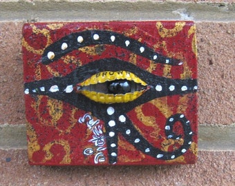 Bottle Cap Eye of Horus