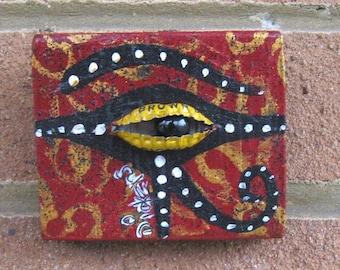 Bottle Cap Eye of Horus