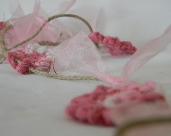 Crochet Flower Princess Garland