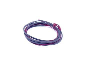 Grey unisex bracelet