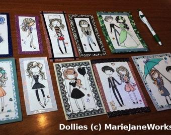 Original FIRST dolls of MJs Dollar Dollie Series ~
