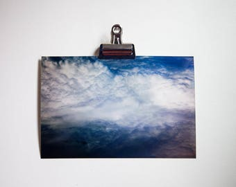 Cloud Photography, Nature Photography, Sky from Plane, Natural Light, Color Photography, 8x12 Full Frame Digital Print