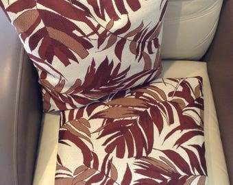 """Outdoor cushion/pad covers or Outdoor Pillow covers;  18"""" x 18"""" cushion/pad covers or pillow covers; Garden, Patio cushions and Pillowcases"""