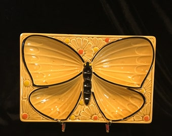 Mid-Century Butterfly Divided Candy / Nut Dish - Made in Japan - WOW, That's Some Kind of Amazing!