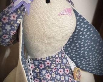Handmade Bunny tilda doll