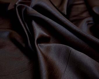 Black Shiny Slubby Fabric Sasha Eye Patch