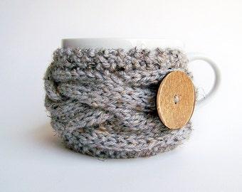 Knitting Pattern, Cup Cozy Pattern, Coffee Cozy Pattern, Mug Cozy Pattern, Tea Cozy Pattern, Easy Knitting Pattern, Coffee Sleeve Pattern
