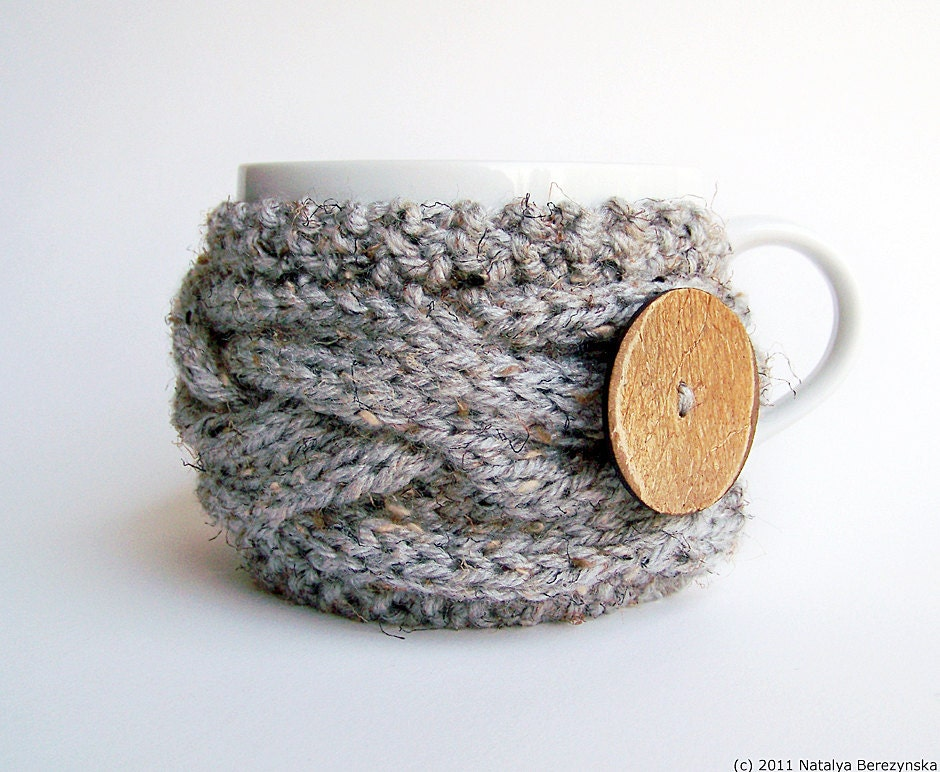 Knitting Pattern, Cup Cozy Pattern, Coffee Cozy Pattern, Mug Cozy Pattern, Tea Cozy Pattern, Easy Knitting Pattern, Coffee Sleeve Pattern