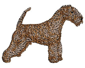 Lakeland Terrier dog Embroidered Towels, Dog Towels, Personalised Towels, Lakeland 3