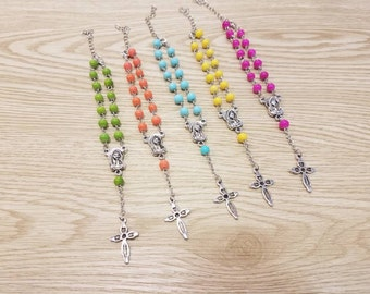 10 Rosary Bracelets Party Favors