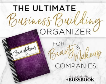 BEAUTYBOSS Business Building Organizer for Makeup & Beauty Presenters