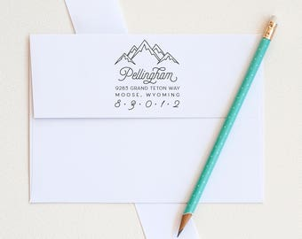 Custom Address Stamps
