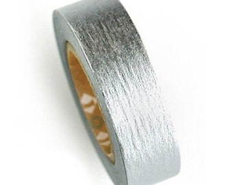 Silver Adhesive Masking Tape (0.6in)