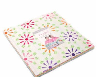 """Frolic by Me & My Sister - 42 - 10"""" x 10"""" Layer Cake (22310LC) Precut Quilting Fabric"""